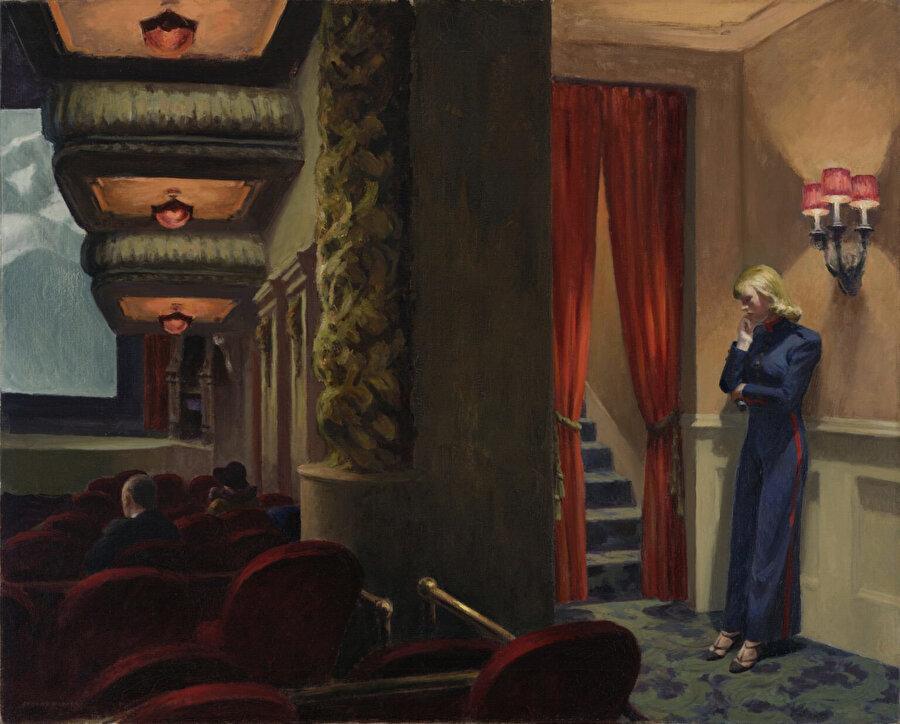 Edward Hopper, New York Movie