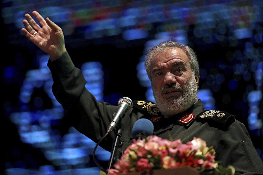 İran Devrim Muhafızları Ordusu Komutan Yardımcısı Ali Fedevi,