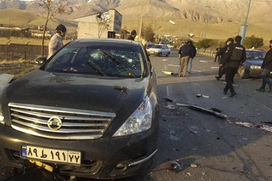 Kamyonete yerleştirilen otomatik silahın Fahrizade'nin yüzüne zum yapan bir sistemle donatıldığı açıklandı.
