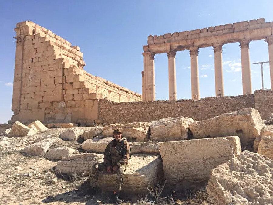 Marat Gabidullin Palmira'da.