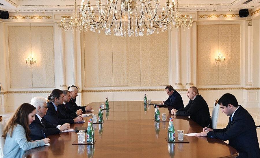 """Azerbaycan Cumhurbaşkanı Aliyev: """"Türk-Rus İzleme Merkezi Ağdam'da yer alacak"""""""