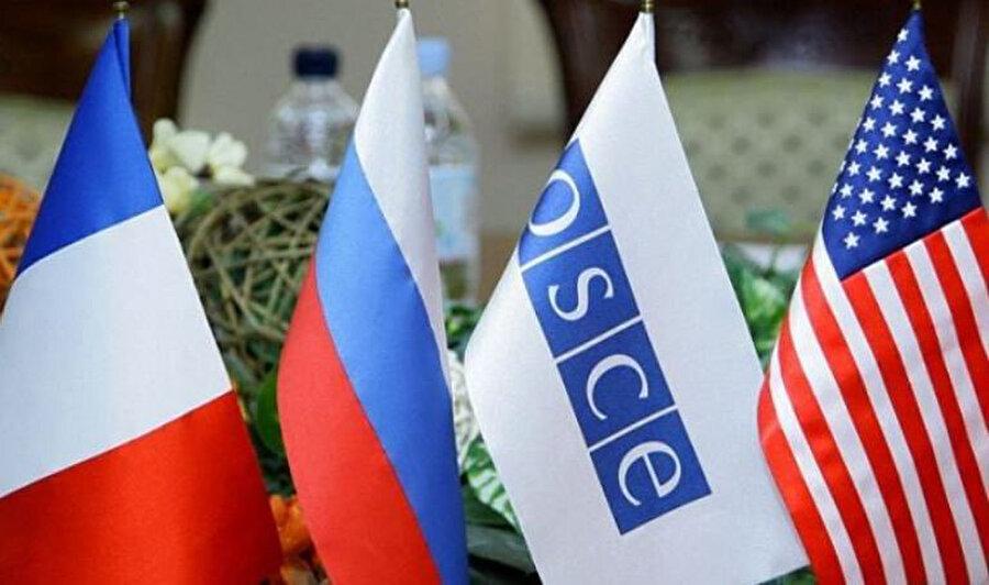 Aliyev, çözüm sürecini yürüten AGİT Minsk Grubunun faaliyetlerinden de bahsetti.