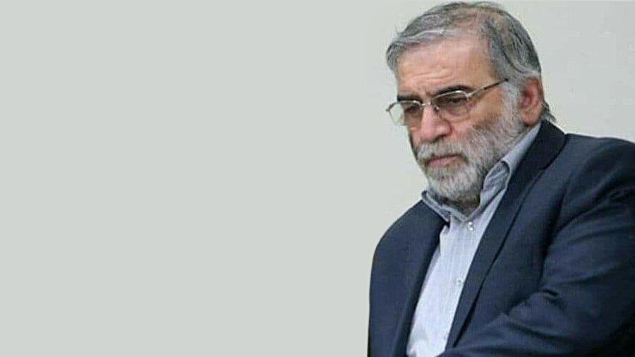 İran'ın nükleer programının mimarlarından Muhsin Fahrizade.
