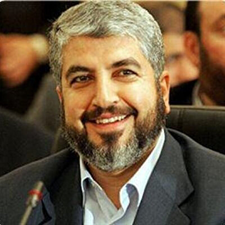 Hamas Politbüro Lideri Halid Meşal.