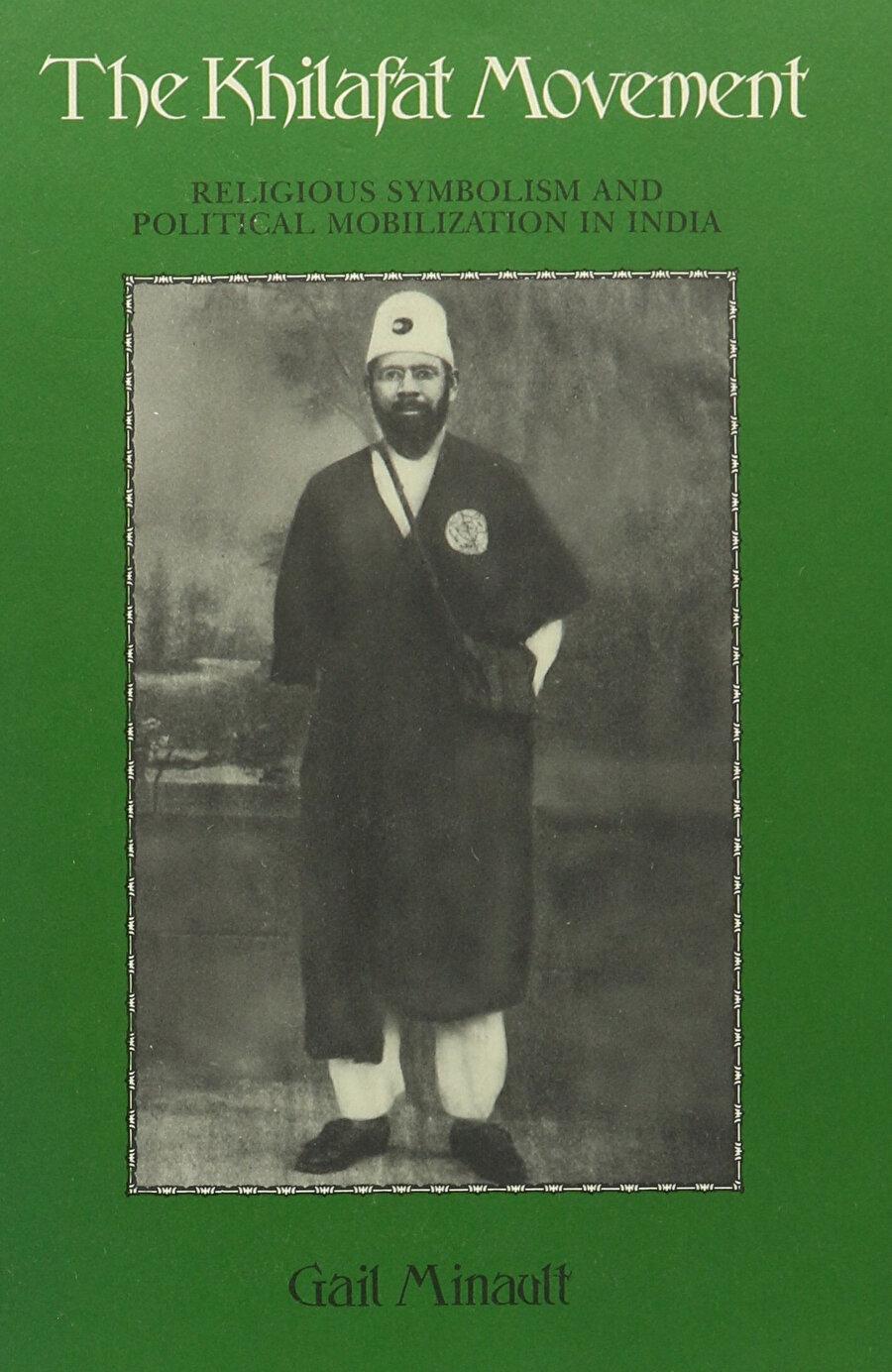 Kapağında Muhammed Ali Cevher'in bulunduğu, Hilâfet Hareketi'ni anlatan bir kitap.