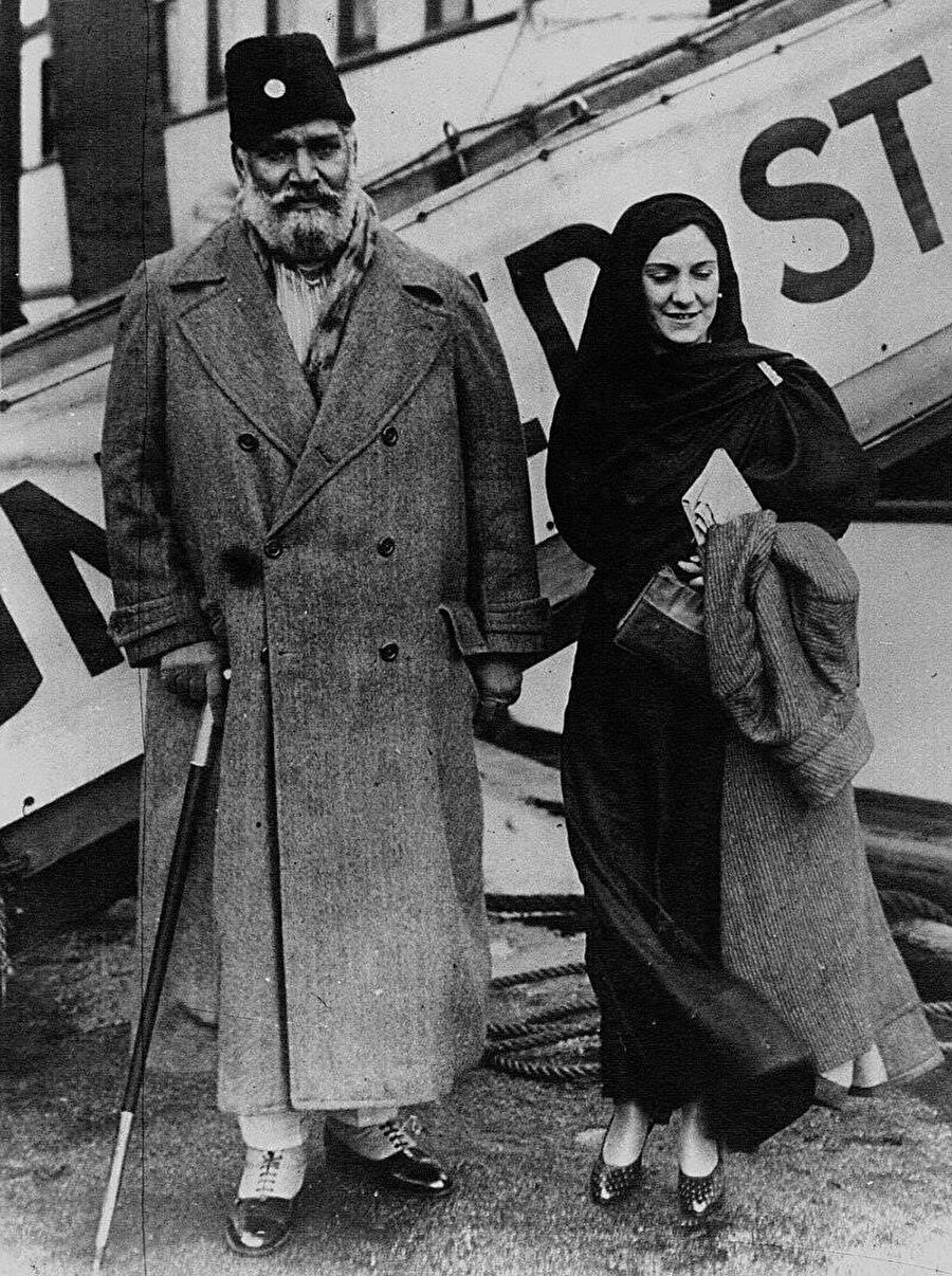 Şevket Ali ve eşi, 1932.