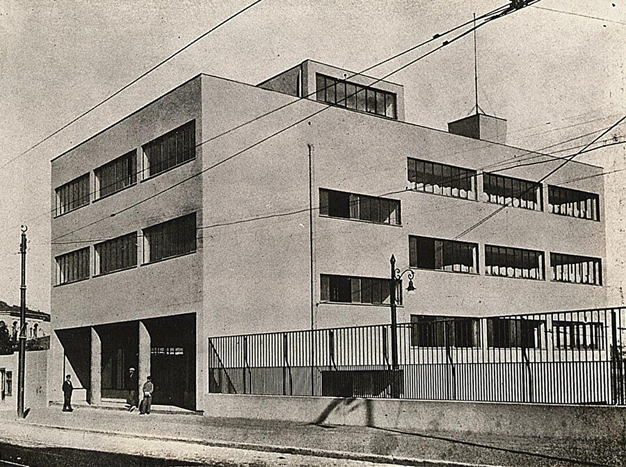 SATIE Büro ve Servis Deposu (1934), SALT Arşiv.
