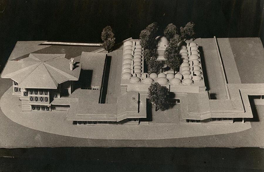 Gerçekleşmeyen Beyazıt Meydanı Kahve Projesi (1939-41), SALT Arşiv.