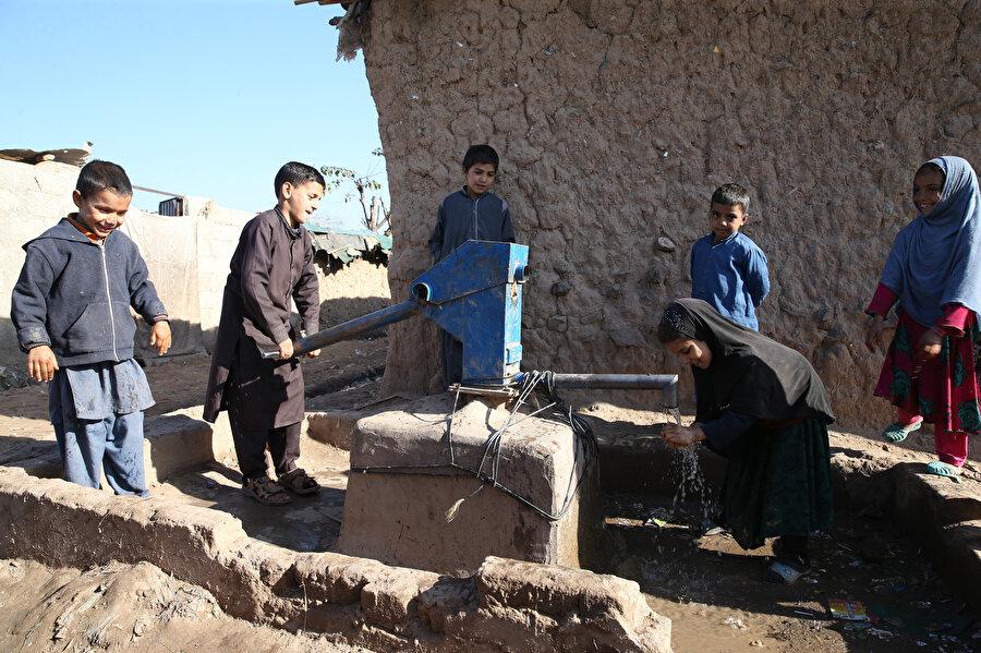 Kamplarda ciddi oranda temiz su sıkıntısı bulunuyor.