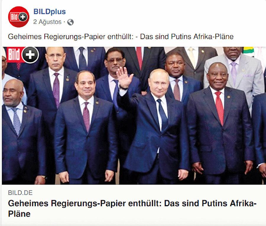 """Nisan 2019'da Institut Français des Relations Internationales (IFRI) """"Rusya'nın Afrika'ya Büyük Dönüşü mü?"""" başlığıyla bir rapor hazırladı"""