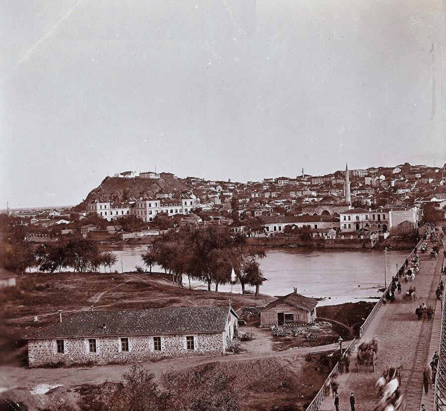 Filibe'nin 1890 tarihli bir fotoğrafı.