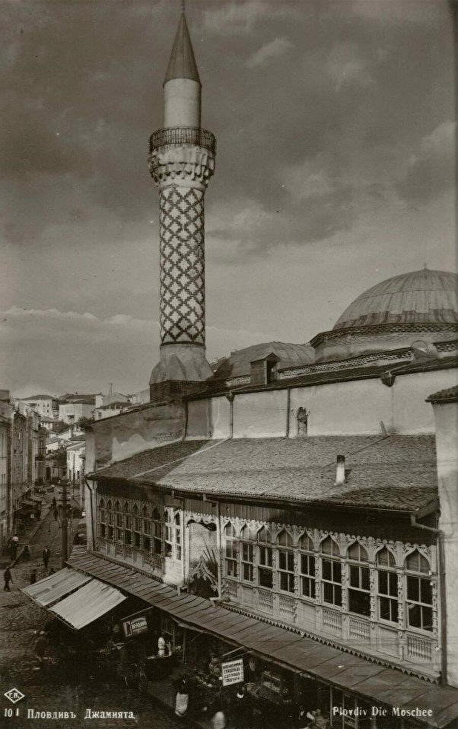 Hüdâvendigar Camii'nin eski bir fotoğrafı.