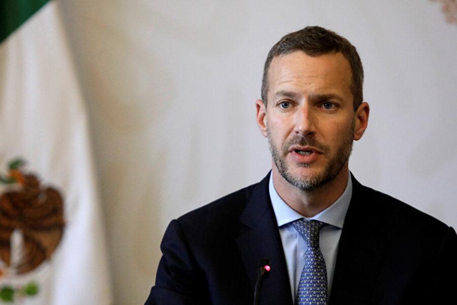 ABD Uluslararası Kalkınma Ajansı'nın (USAID) İcra Kurulu Başkanı Adam Boehler.