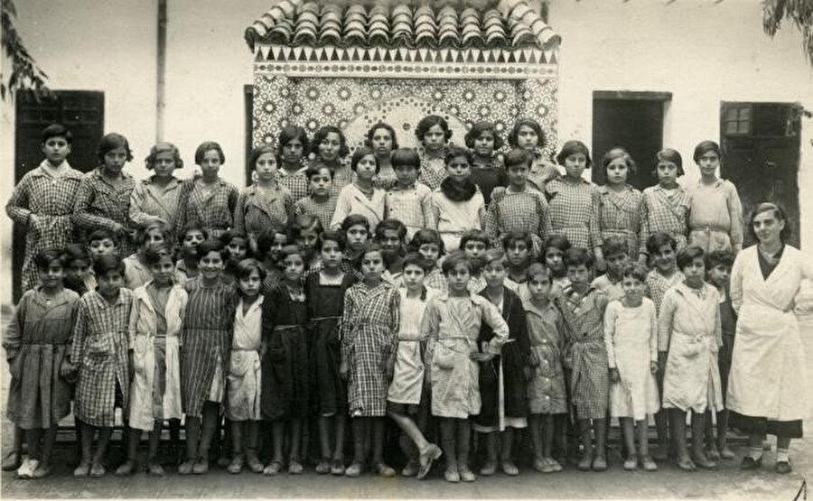 nİkinci Dünya Savaşı öncesi Fas Yahudileri.