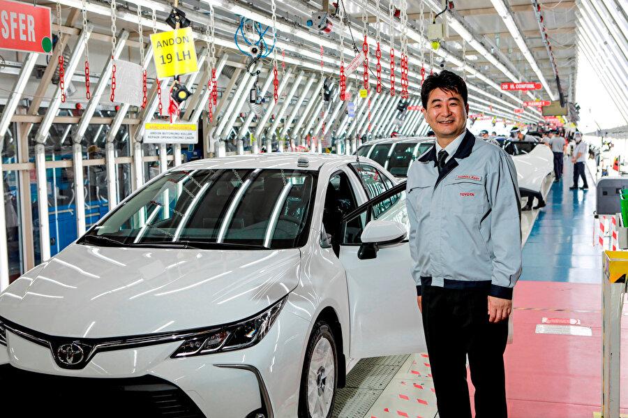 Toyota'nın üretim bandı böyle görüntülenmişti.