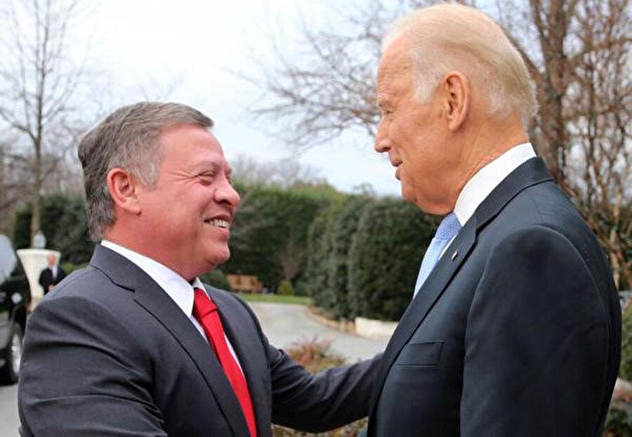Başkanlık seçimlerini kazanan Joe Biden'ı ilk defa Kral II. Abdullah tebrik etmişti.
