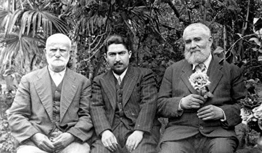 Eşref Efendi Hazretleri, Mustafa Düzgünman, Necmeddin Okyay.