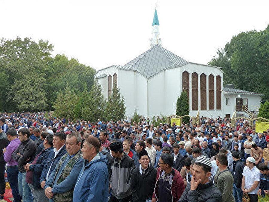 Rostov-na-Donu şehrinin 2003'te inşa edilen tek camisi.