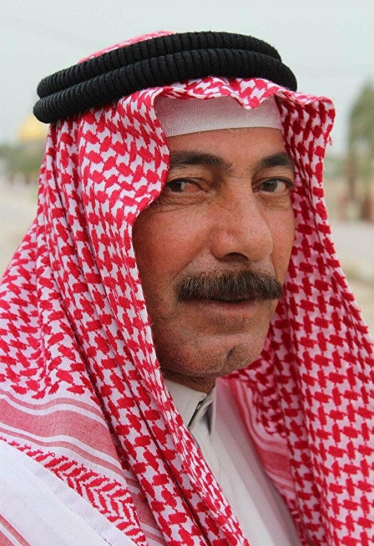 Kûfeli bir Arap.