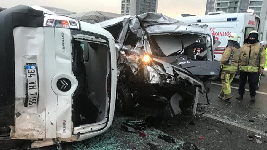 Kaza anından fotoğraflar