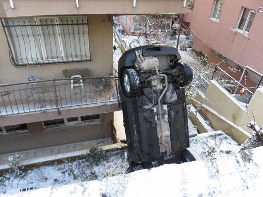 Kaza yerinden fotoğraf