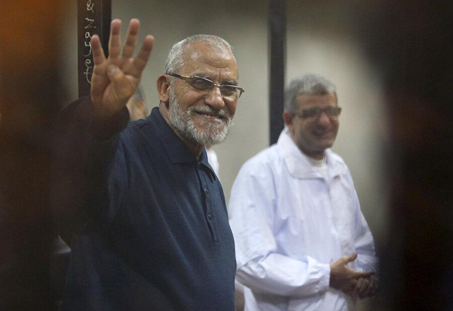 İhvan Rehberlik Konseyi Başkanı Muhammed Bedii.