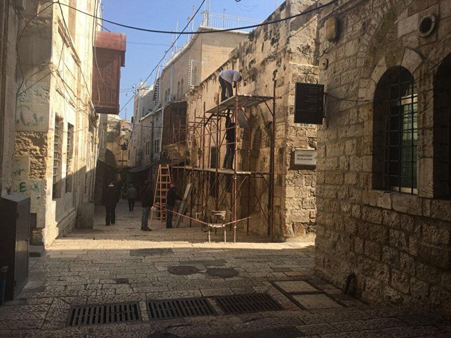 Hâlidiyye Kütüphanesi, İsrail'in işgalinden sonra uzun süre bakımsız kaldı. Bilahare restore edildi.