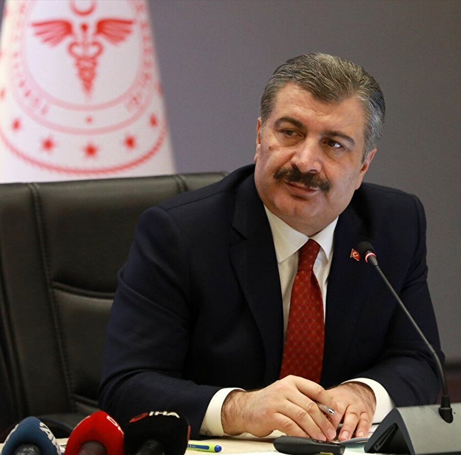 Sağlık Bakanı Fahrettin Koca- Arşiv