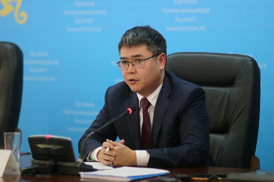 Çalışma ve Sosyal Koruma Bakanı Serik Şapkenov.