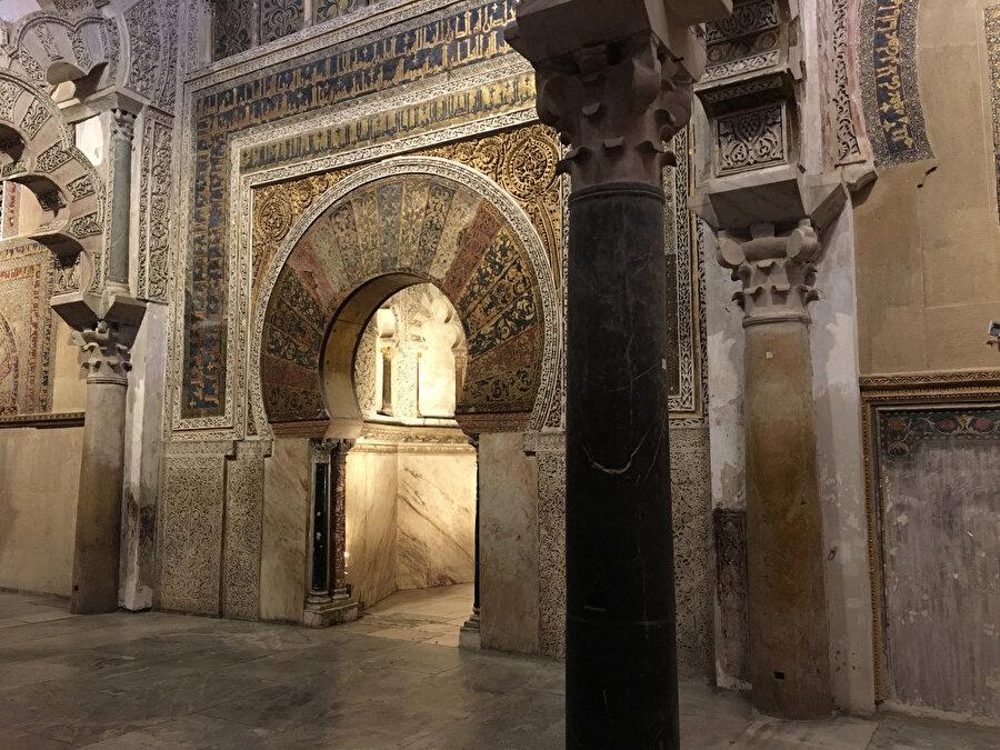 Kurtuba Camii'nin mihrabı, sanat değeri açısından emsalsizdir.