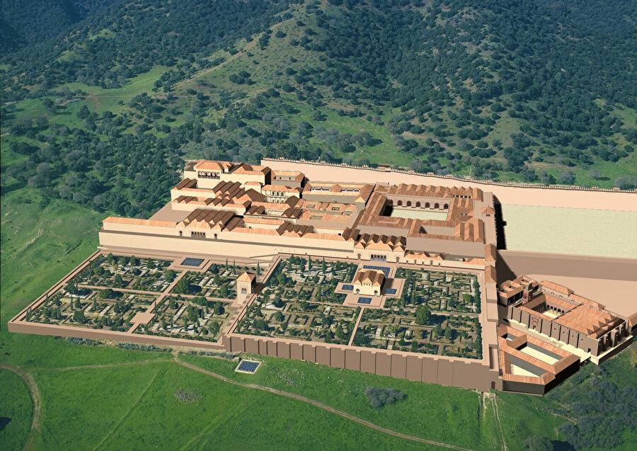Kurtuba yakınlarındaki Medinetu'z-Zehrâ saray-kenti plan olarak Kurtuba ile aynıdır. Ancak burada caminin yönü kıbleye dönüktür.
