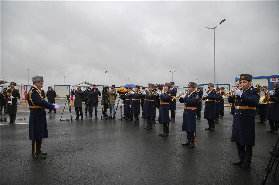 Merkezde Türk ve Rus askerleri görev yapacak.