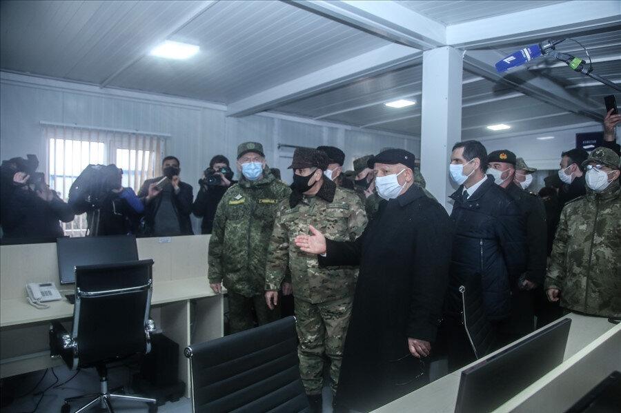 Açılışa Türkiye Milli Savunma Bakan Yardımcısı Karaosmanoğlu katıldı.