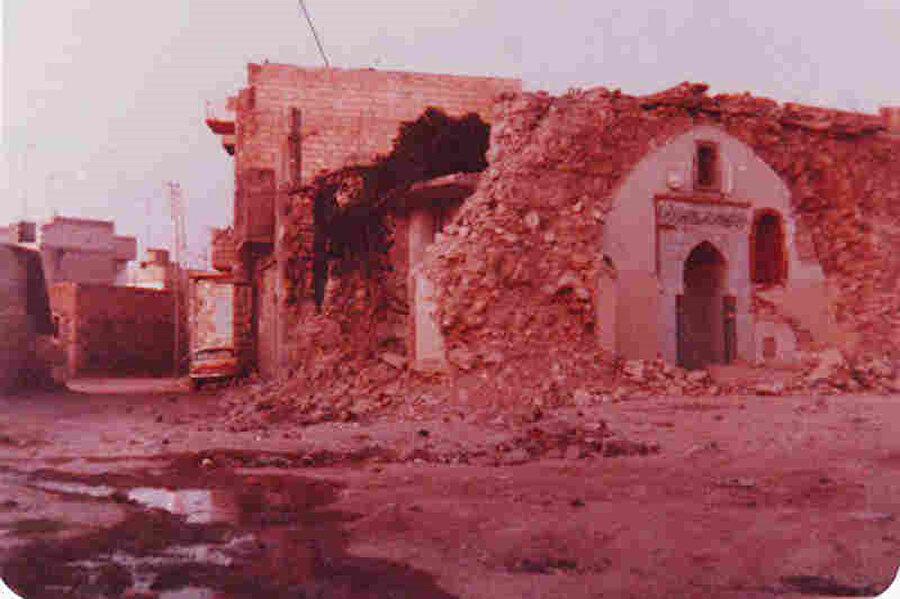 Katliamın ardından, Hama'dan görüntüler...