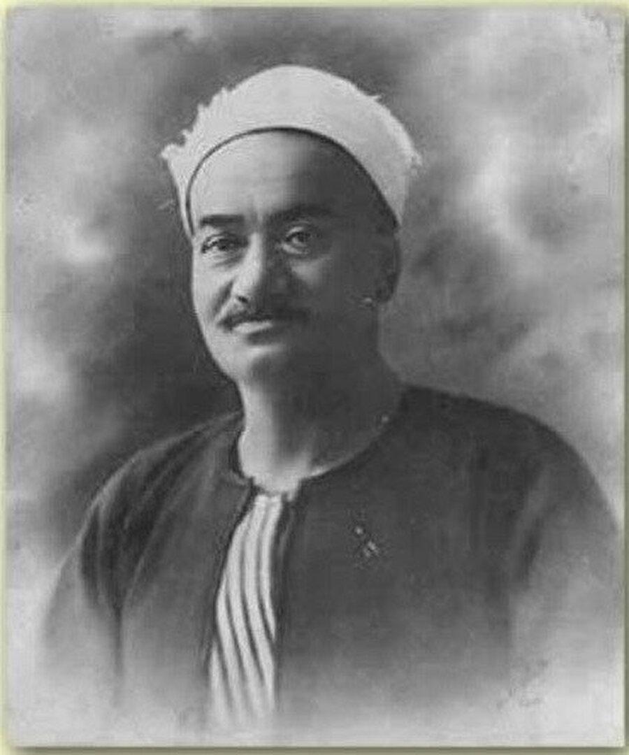 Ümmü Gülsüm'ün babası Şeyh İbrahim.