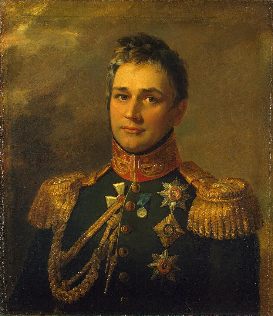Kafkas Orduları Başkumandanı ve Kafkas Genel Valisi Vorontsov.