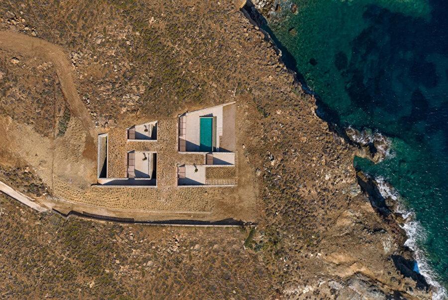 Proje, deniz seviyesine oldukça yakın bir konuma inşa ediliyor.