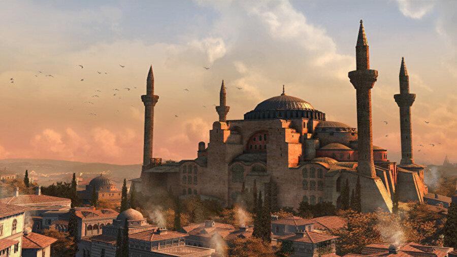 """Konstaniyye, Mayıs 1511… Bir seyyah kılığına girerek İstanbul'a üç yüzyıl evvel saklanmış beş tane anahtarı bulmaya gelen ana karakterin, """"Muhteşem bir manzara, Avrupa'nın hiçbir şehrinde böyle bir silüet göremezsiniz"""" demesi ile başlıyordu Assassin's Creed adlı oyunun İstanbul bölümü."""
