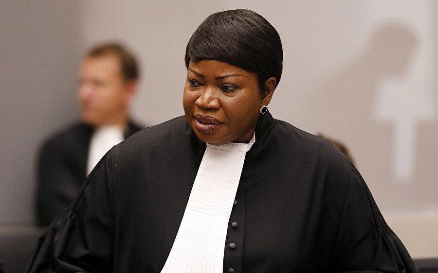 """Bensouda, Mahkeme'ye """"işgal altındaki toprakların soruşturmaya dahil edilmesi gerektiği"""" yönünde mütalaada bulunmuştu."""