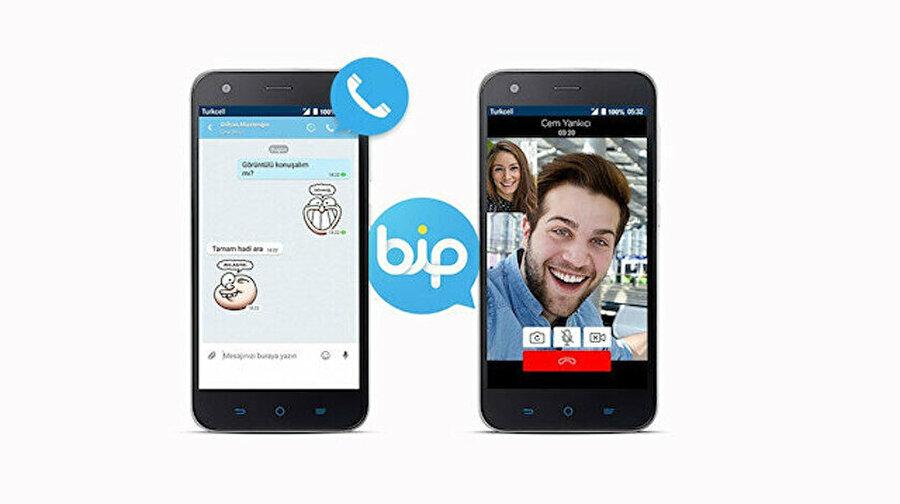 BİP birçok özelliğiyle mesajlaşma uygulamaları arasında ön plana çıkıyor