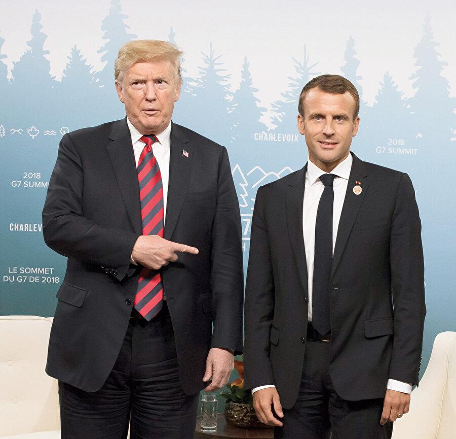 """""""Emmanuel Macron, ABD, Çin ve Rusya'ya karşı Avrupa'nın kendi ordusu kurmasını teklif etmiş"""