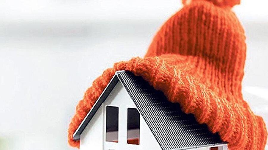 Evin ısı yalıtımının yapılmış olması gerekiyor
