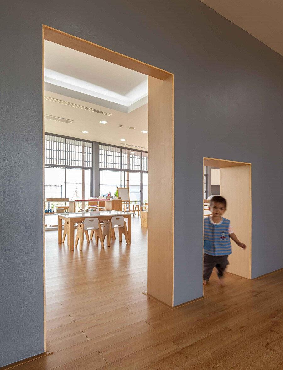Projenin iç mekanında bir görsel.