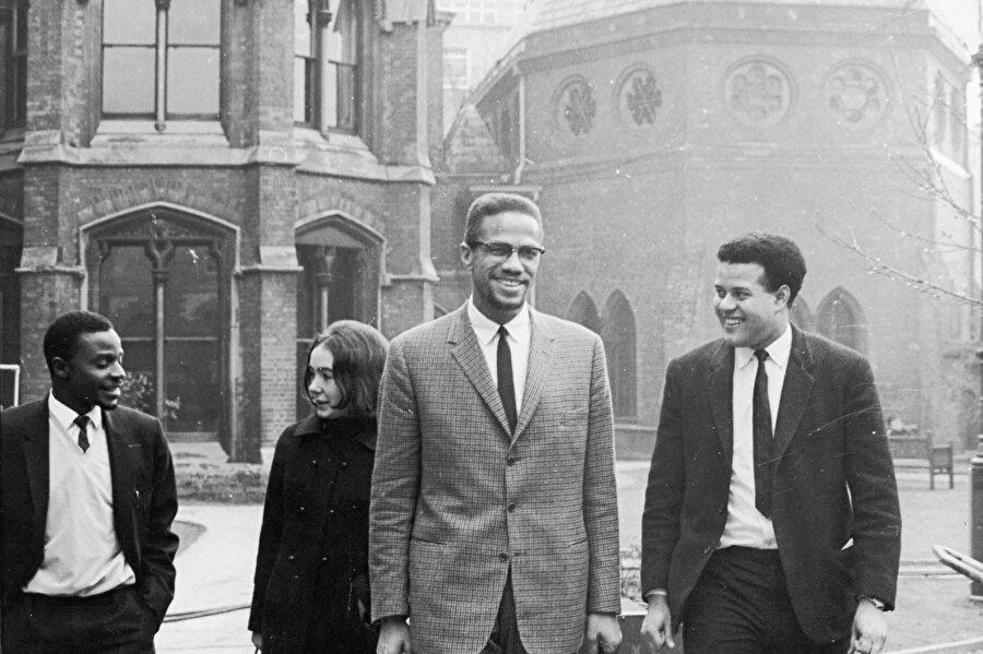 Malcolm X, Oxford Üniversitesi'nde.