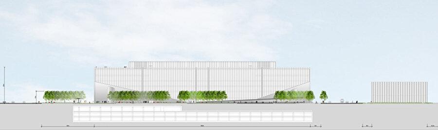 Tencent Genel Merkezi doğu görünüşü.