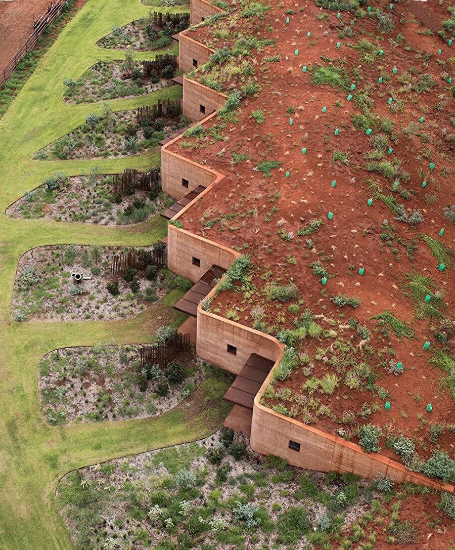 Batı Avustralya'nın en uzun duvarı.