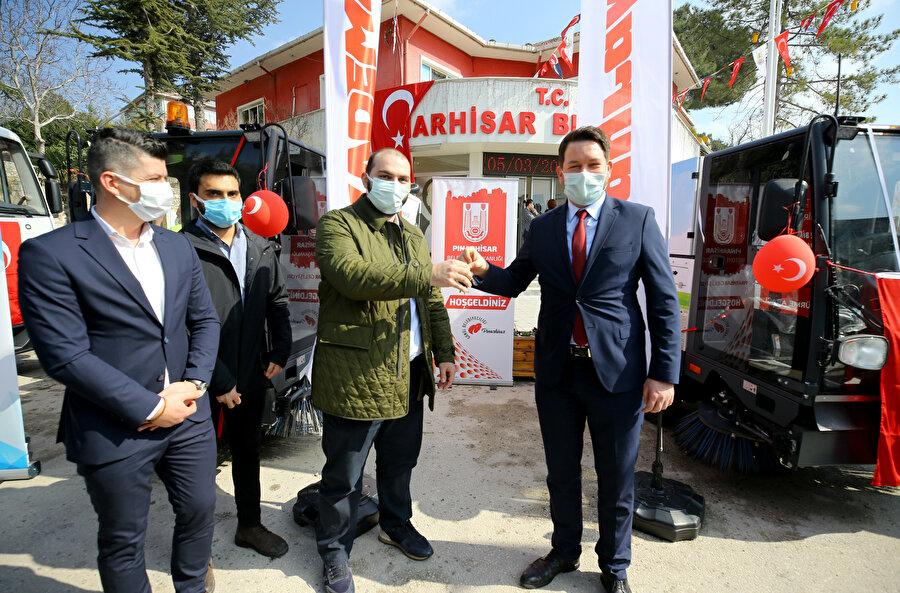Törene Pınarhisar Belediye Başkanı İhsan Talay ile Albayrak Yönetim Kurulu Üyesi Muhammet Fatih Albayrak katıldı.