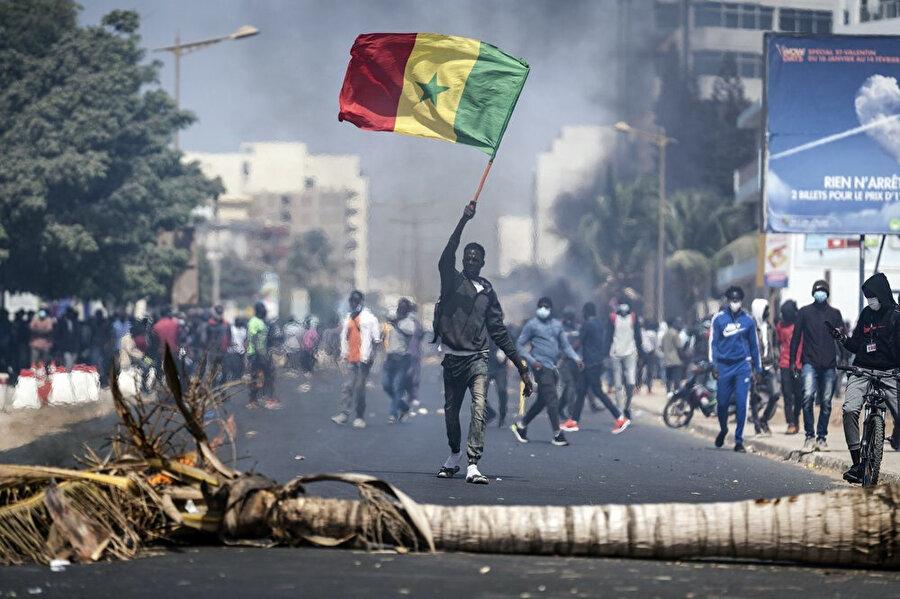 Senegal'de 3 Martta yaşanan olaylar.