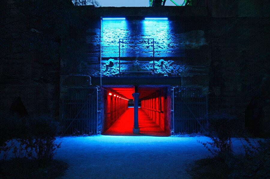 Galeri girişi.