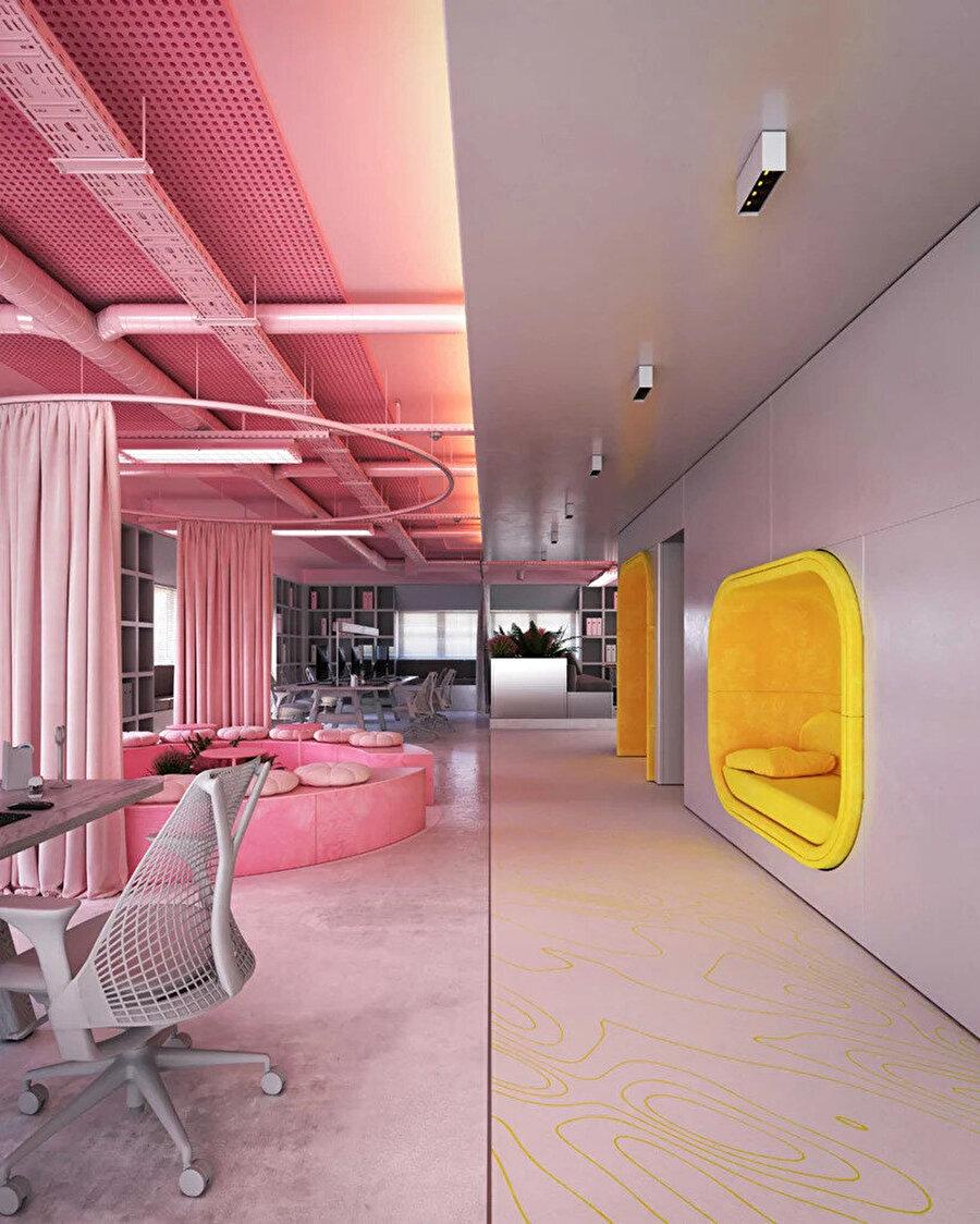 Zyva Stüdyo Ofisi'nin en önemli özelliklerinden biri modüler ve dönüştürülebilir olması.